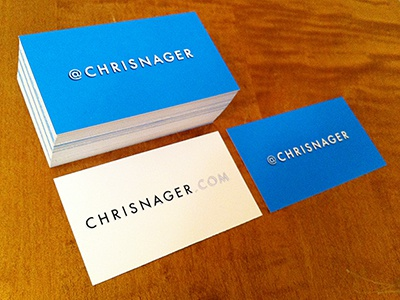 My latest business card design branding business cards