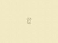 HTML5 embossed logo