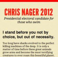 Chris Nager for President 2012 @320px width
