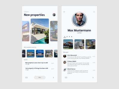 Properties app concept