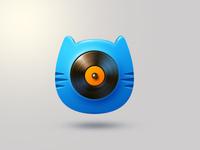 music cat app icon
