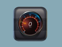 Volvo speed app icon