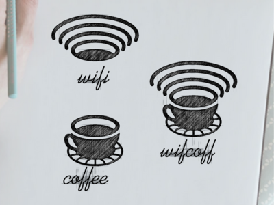WIFICOFFEE logo design