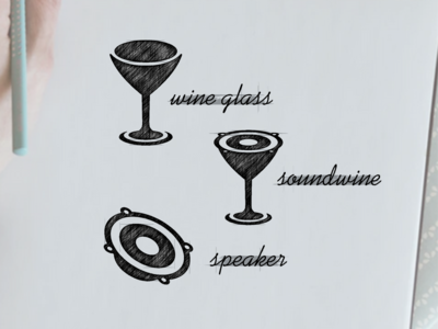 soundwine logo design