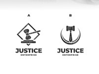 justice enterprise logo design