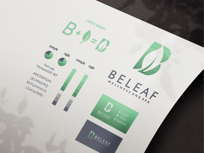 beleaf wellness and spa logo branding beauty salon beauty spa inspiration designs awesome branding design design dribbble inspirations brand branding logo