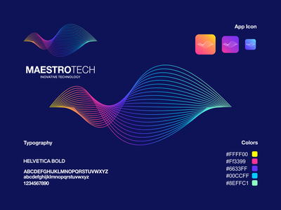 Maestro tech logo grafast design modern logo colorful logo technology logo letter m logo letter m modern icon app typography vector ux ui illustration branding logo