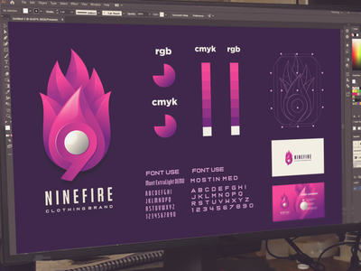 nenifire logo branding merch outfit apparel fire vector ui illustration branding design design dribbble inspirations brand branding logo
