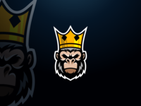 King Kong logo design