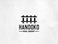 Rail Agent logo design