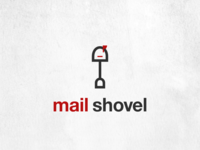 Mail Shovel logo design