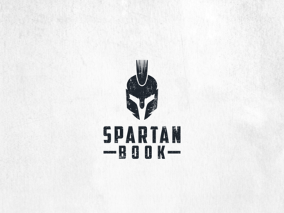 Spartan Book Logo design