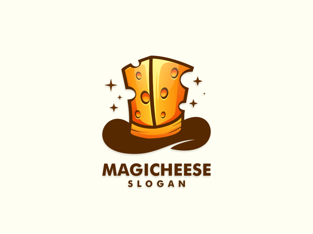 Magic Cheese app designs identity art icon inspiration esport cheese magic design illustration vector awesome forsale branding dribbble brand inspirations logo