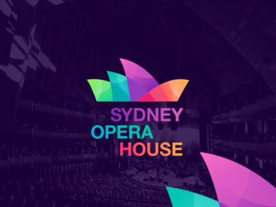 sydney opera house logo by grafas studio
