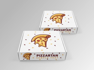 Pizza + Spartan logo design