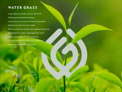 Grass water grid design