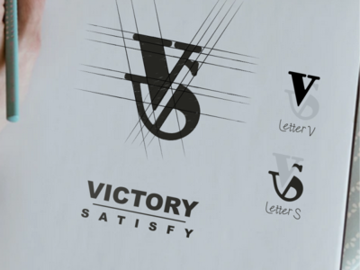 VS logo design