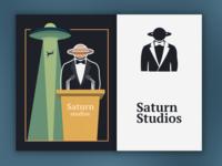 Saturn Studios Rebrand