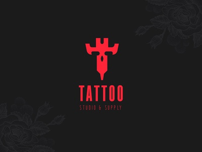 Tattoo studio logo vector logo design tattoo design tattoo art branding logo development logodesign logotype logo tattoo