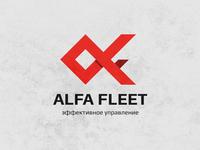 Fleet management logo design