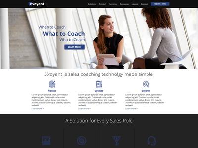 Xvoyant Homepage
