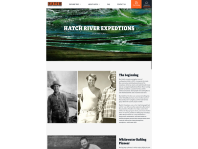 History Page - Hatch Expeditions