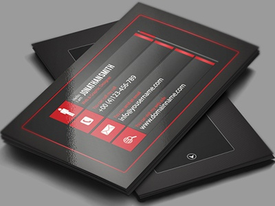 web graphic designer business card by codegrape dribbble