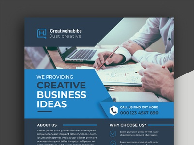 Corporate Flyer corporate consultant company clean flyer business agency advertising advertisement