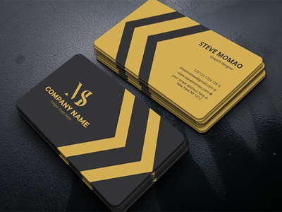 Corporate Business Card ready print creative professional corporate card business