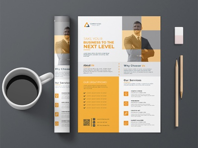 Corporate Flyer Design customizable corporate conference flyer business bundle agency advertising