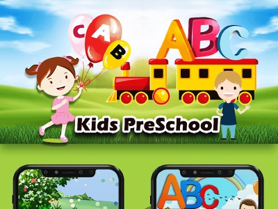 ABC PreSchool Kids - Android Game education android app alphabet kids preschool learning abc