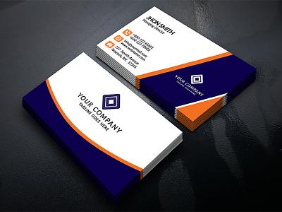Unique Business Card creative cmyk design card business