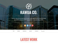 Rawua - HTML Responsive Bi-lingual Theme