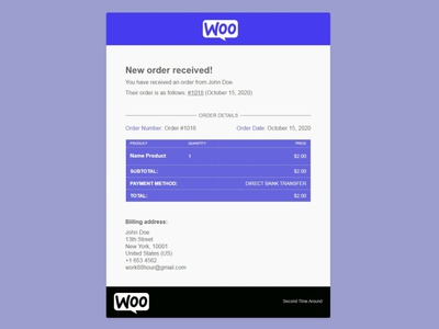 Make - Email Customizer for WooCommerce customizer email edit woocommerce