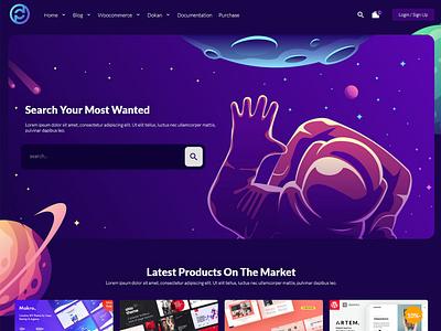 Pdmarket   Modern Marketplace WordPress Theme modern marketplace wordpress