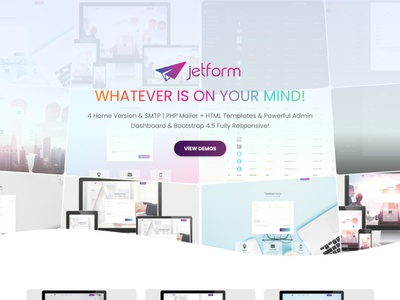 JetForm Multipurpose Form Wizard survey subscription smtp signup registration quote quotation questions wizard form upload customer budget