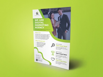 Corporate Flyer Template modern creative print a4 ai flyer business corporate