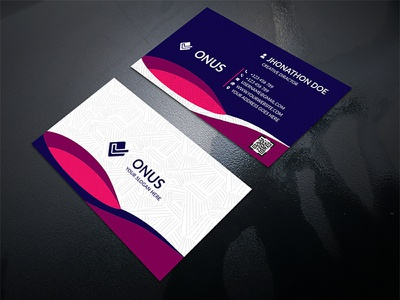 Corporate Business Card fashion classic personal simple corporate card business