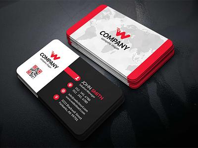 Corporate Business Card modern corporate creative card business