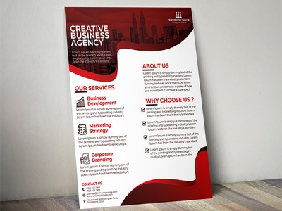 Business Flyer design creative corporate flyer business
