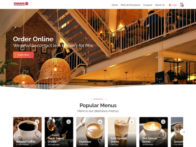 Starcafe - Online Food Ordering System delivery restaurant shopping ordering food online ecommerce