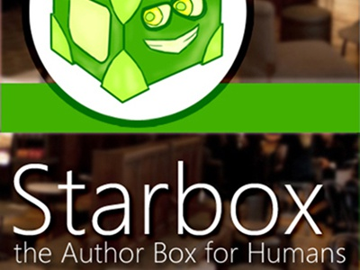 Starbox - the Author Box for Humans author bio author bio box author box authors box‎ bio facebook google html5