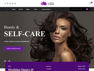 Lotus Pro - Beauty & Spa Salon WordPress Theme spa