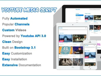 Youtube Media Script