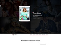 Appolicious Bootstrap 3 Retina App Landing Page