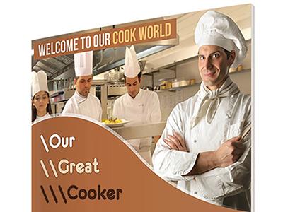 Cook Flyer flyer cooker cook cmyk print 300dpi editable easy creative business multicolour