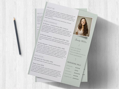 Pastel Resume With Matching Cover Letter resume resume templates resume template resumes resume samples resume examples one page resume photoshop resume