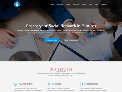 Sipress Community Responsive Wordpress Theme