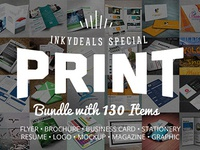The Ultimate Print Templates Bundle with 130 Items - Only $19