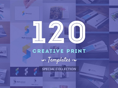 120 Creative Print Templates Special Collection